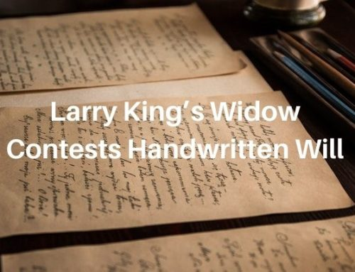 Larry King's Widow Shawn Southwick Contests Handwritten Will That Leaves Her Nothing